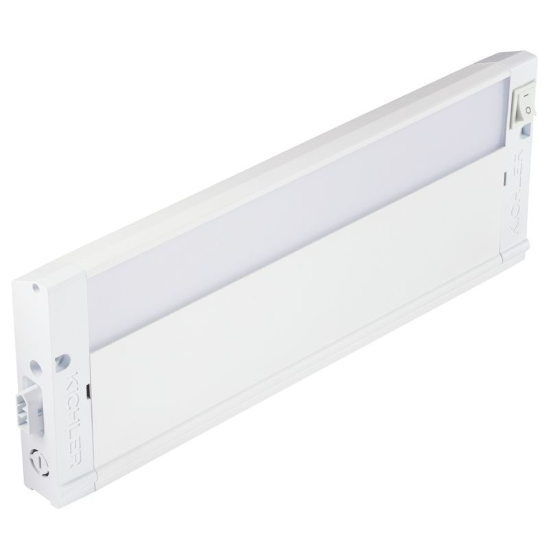 "Kichler 4U30K12 12"" LED Under Cabinet Light Bar - 3000K Textured White"