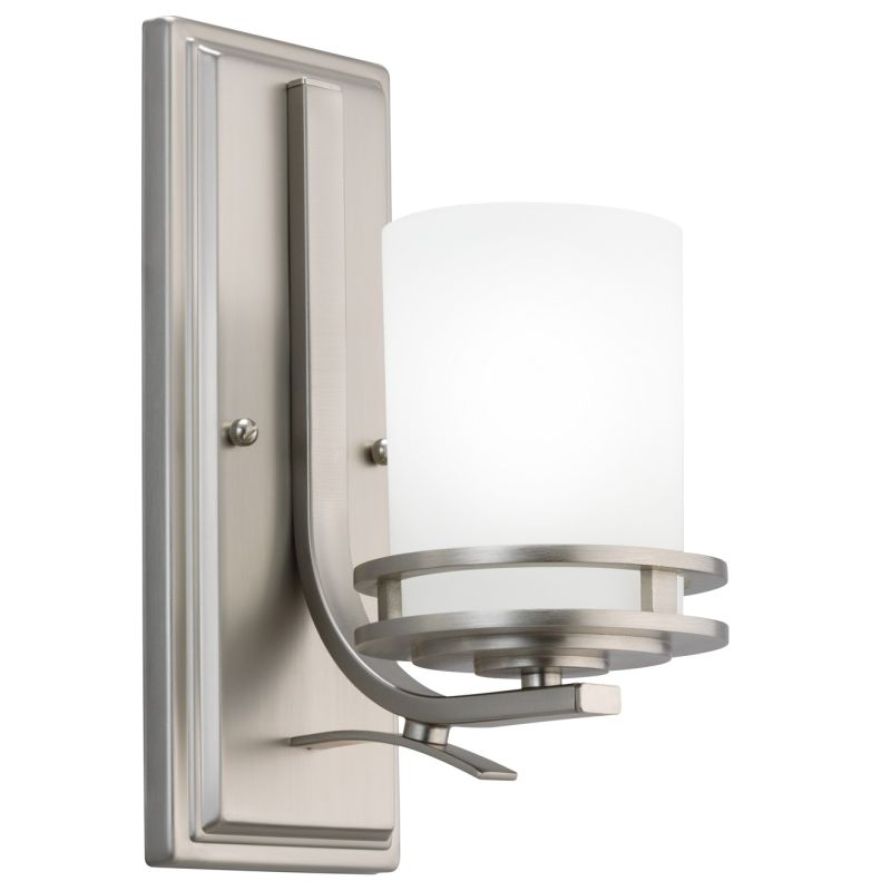"Kichler 5076 Hendrik Single Light 12"" Tall Wall Sconce with Satin"