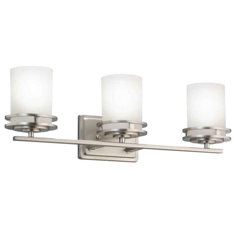 """Kichler 5078 Hendrik 3 Light 24"""" Wide Vanity Light Bathroom Fixture"""