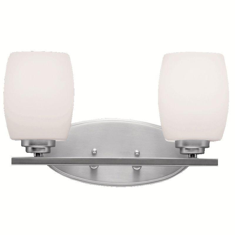 "Kichler 5097 Eileen 14.5"" Wide 2-Bulb Bathroom Lighting Fixture"