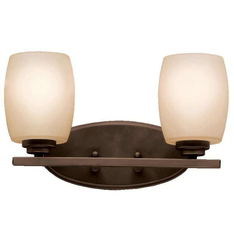"Kichler 5097 Eileen 14.5"" Wide 2-Bulb Bathroom Lighting Fixture Olde"