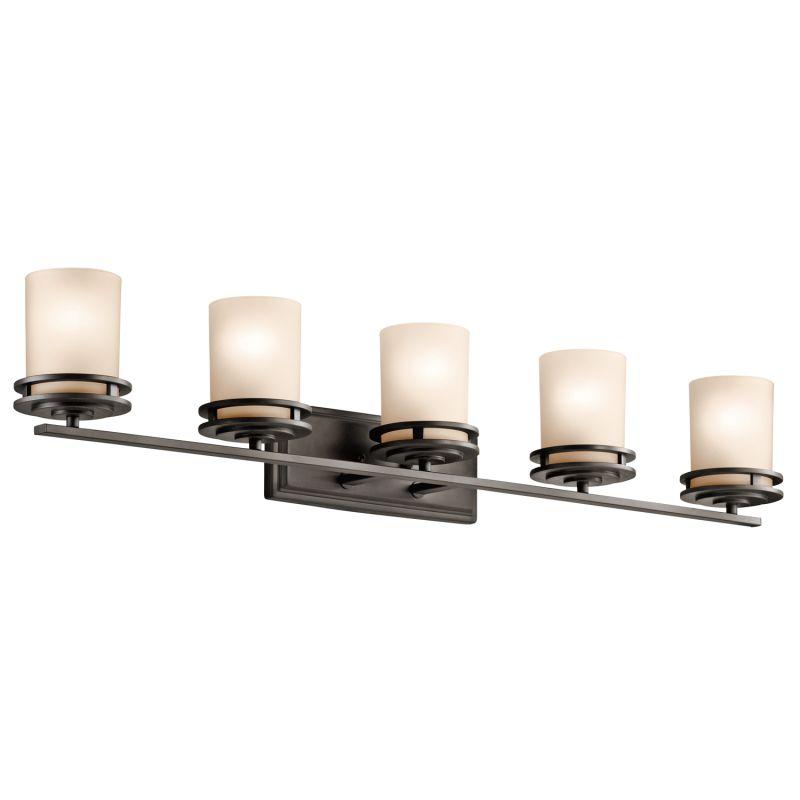 Kichler 5085 Hendrik 5 Light 43&quote Wide Vanity Light Bathroom Fixture