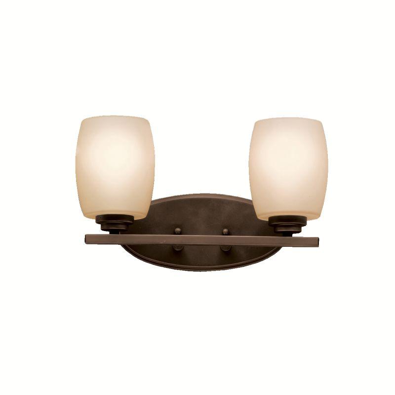 Kichler 5097FL Eileen 14.25&quote Wide 2-Bulb Bathroom Lighting Fixture
