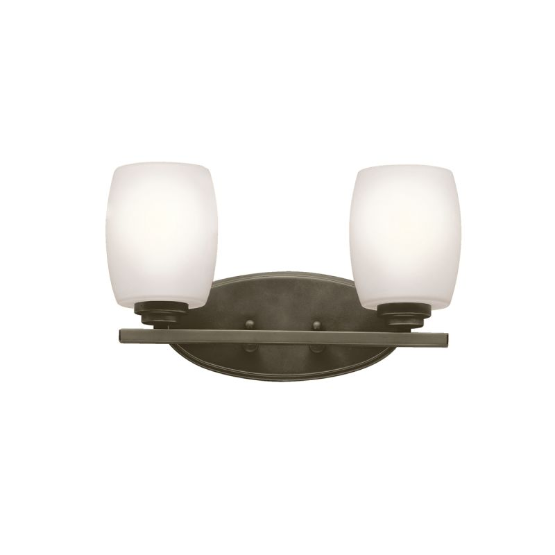"Kichler 5097 Eileen 14.5"" Wide 2-Bulb Bathroom Lighting Fixture Olde"