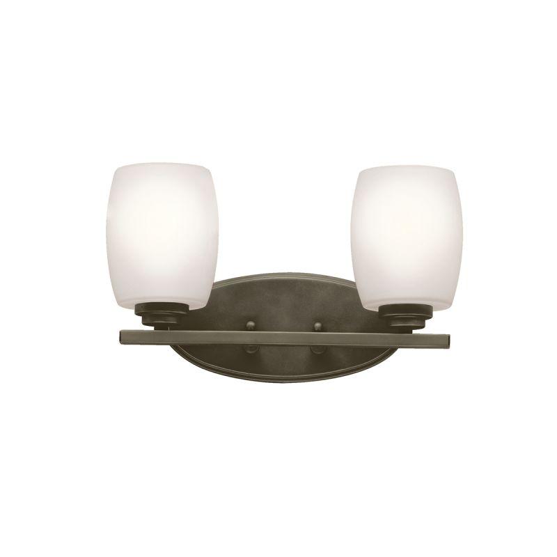 "Kichler 5097FL Eileen 14.5"" Wide 2-Bulb Bathroom Lighting Fixture Olde"