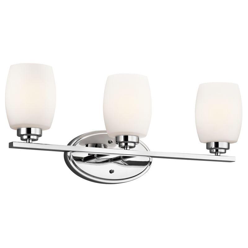 "Kichler 5098L16 Eileen 3 LED 24"" Wide Energy Star Certified Bathroom"