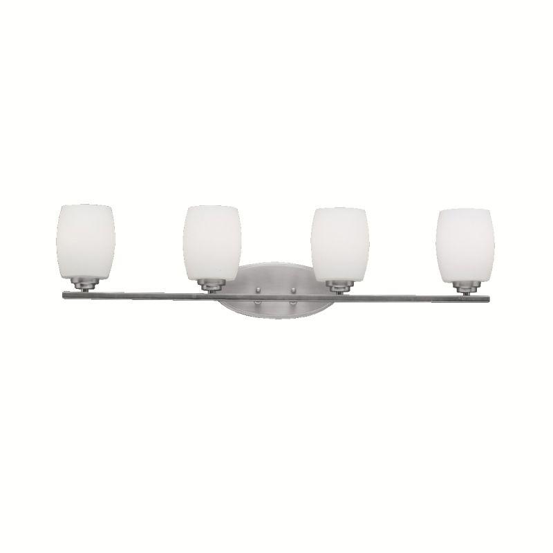 "Kichler 5099 Eileen 34"" Wide 4-Bulb Bathroom Lighting Fixture Brushed"
