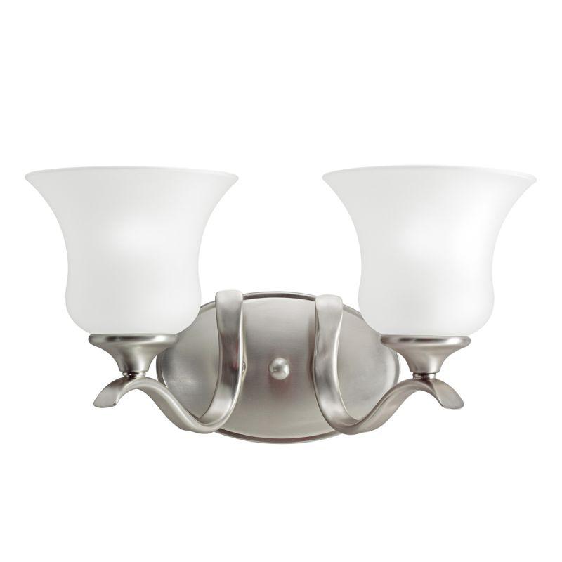 """Kichler 5285 Wedgeport 15"""" Wide 2-Bulb Bathroom Lighting Fixture"""