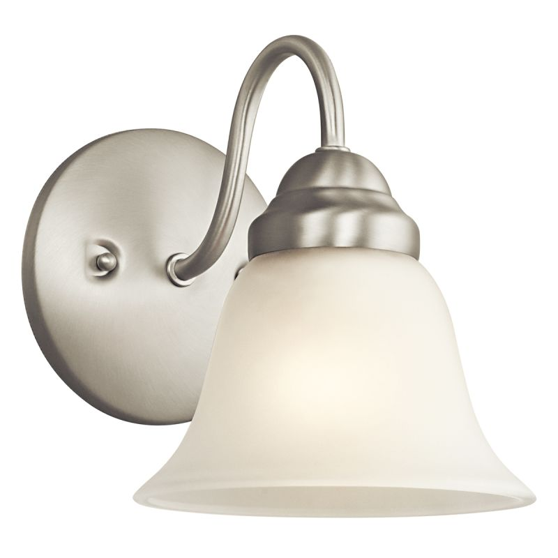 Kichler 5294 1 Light Wall Sconce from the Wynberg Collection Brushed