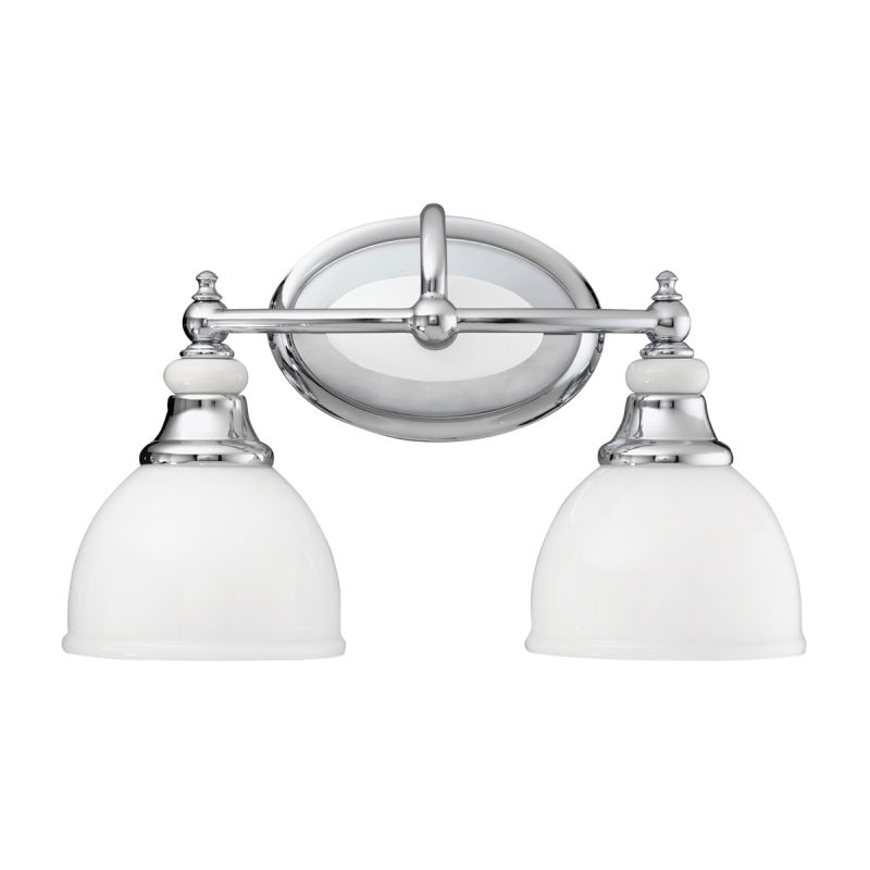 "Kichler 5368 Pocelona 14.5"" Wide 2-Bulb Bathroom Lighting Fixture"
