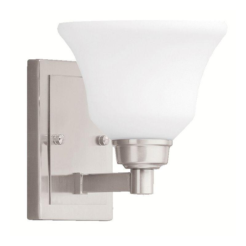 Kichler 5388 Langford 1 Light Wall Sconce Brushed Nickel Indoor