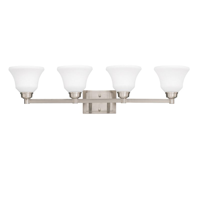 "Kichler 5391 Langford 35.25"" Wide Single-Bulb Bathroom Lighting"