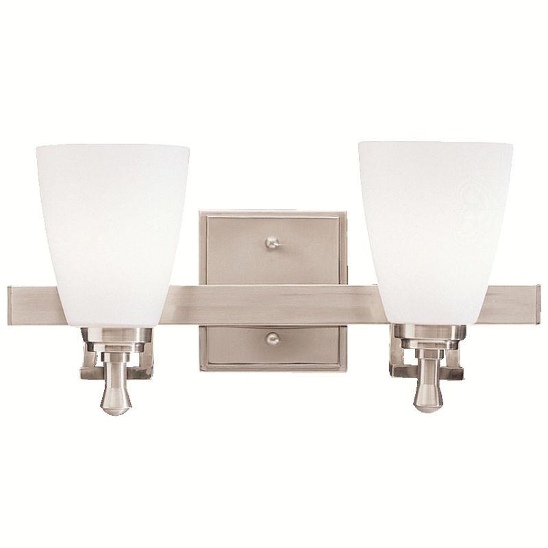 """Kichler 5402 Uptown 15.5"""" Wide 2-Bulb Bathroom Lighting Fixture"""