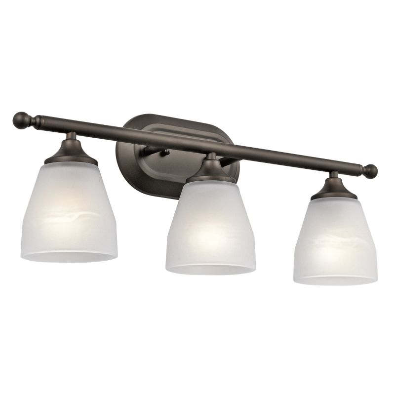 "Kichler 5448 Ansonia 3 Light 23"" Wide Vanity Light Bathroom Fixture"