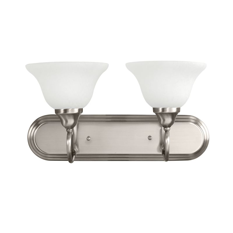 "Kichler 5557 Stafford 18"" Wide 2-Bulb Bathroom Lighting Fixture"