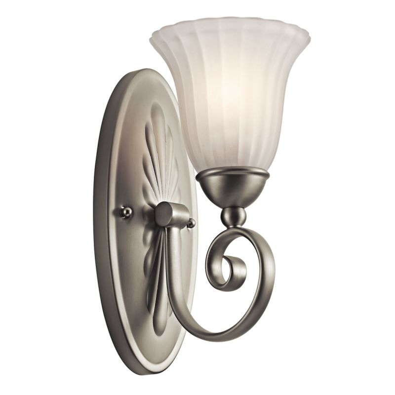 Kichler 5926 Single Light Wall Sconce from the Willowmore Collection Sale $56.00 ITEM: bci1222479 ID#:5926NI UPC: 783927315968 :