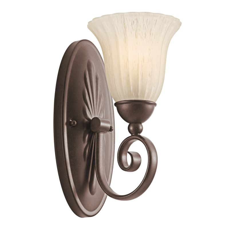 Kichler 5926 Single Light Wall Sconce from the Willowmore Collection Sale $56.00 ITEM: bci1222480 ID#:5926TZ UPC: 783927315951 :