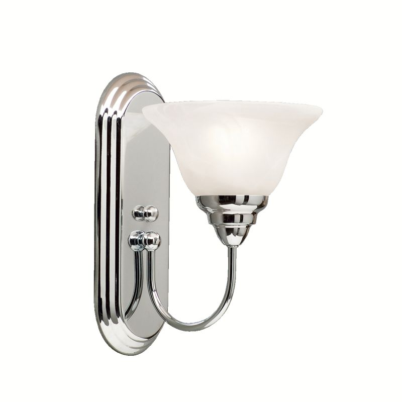 Kichler 5991 Modern One Light Reversible Wall Sconce from the Telford