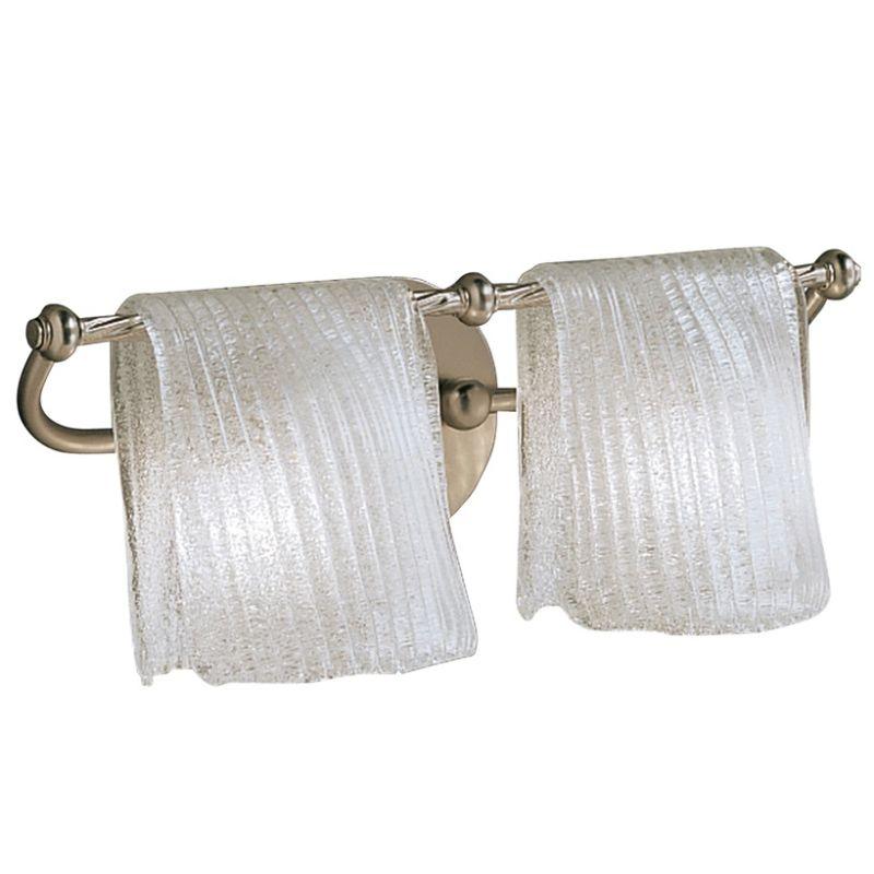 "Kichler 6312 Drapes 17.5"" Wide 2-Bulb Bathroom Lighting Fixture"