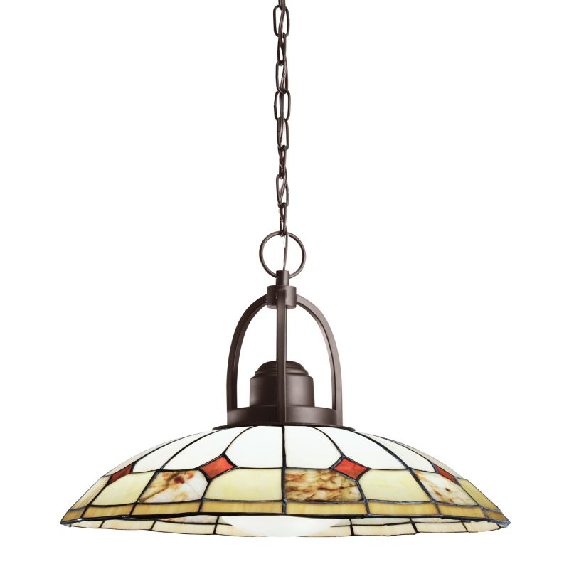 Kichler 65368 Olde Bronze Deveron Single-Bulb Indoor