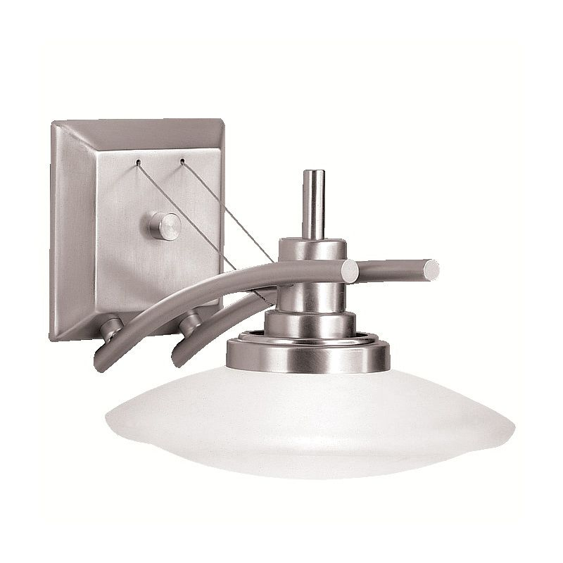 Kichler 6963NI Brushed Nickel Contemporary Structures Wall Sconce