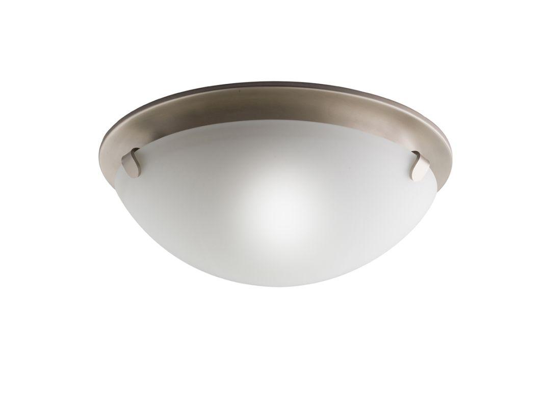 Kichler 7003 2 Light Flush Mount Indoor Ceiling Fixture Brushed Nickel