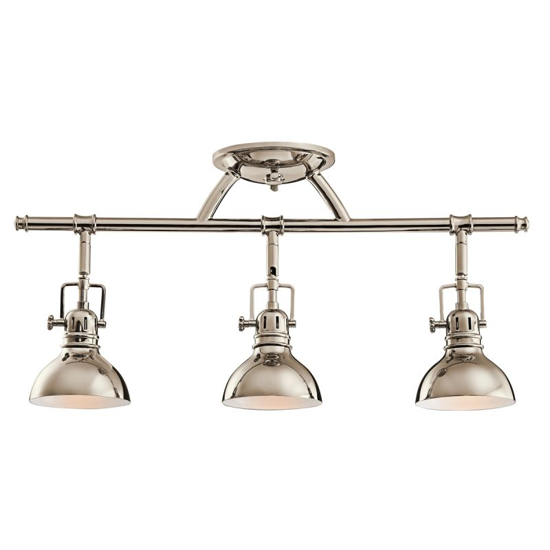 "Kichler 7050 Hatteras Bay 3 Light 23"" Wide Track Lighting Fixture with"