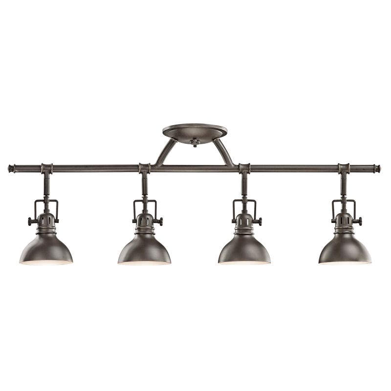 "Kichler 7704 4 Light 31"" Wide Track Lighting Fixture Olde Bronze"