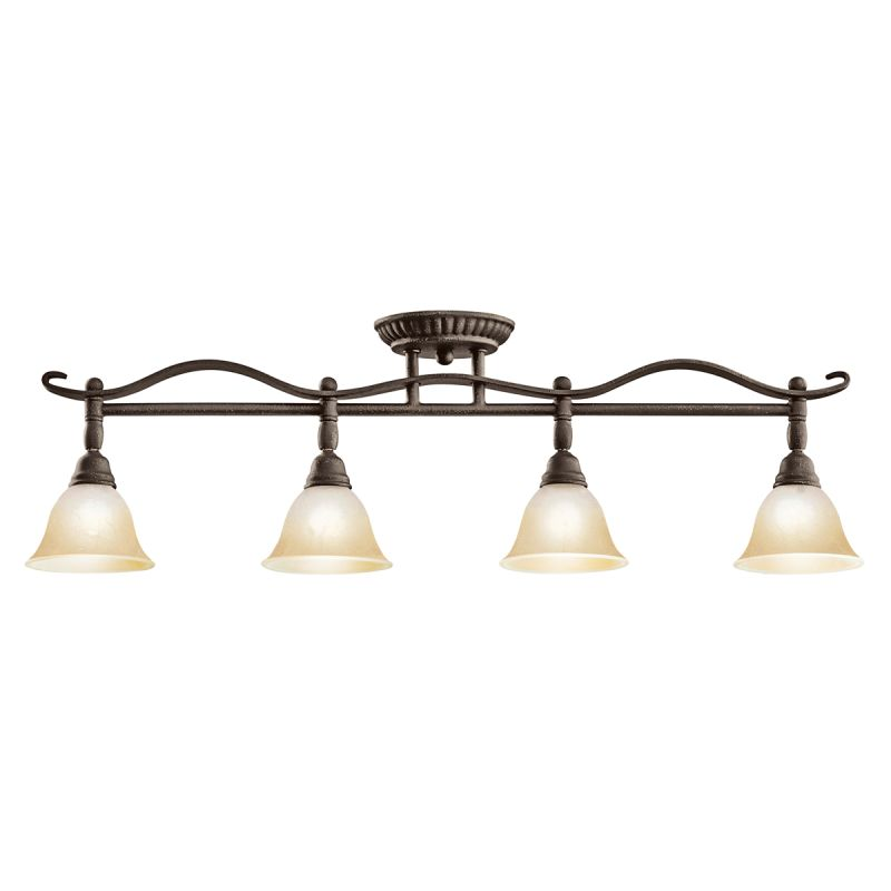 black pomeroy 4 light semi flush indoor ceiling fixture