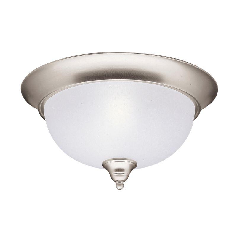 Kichler 8064 Phoebe 2 Light Flush Mount Indoor Ceiling Fixture Brushed
