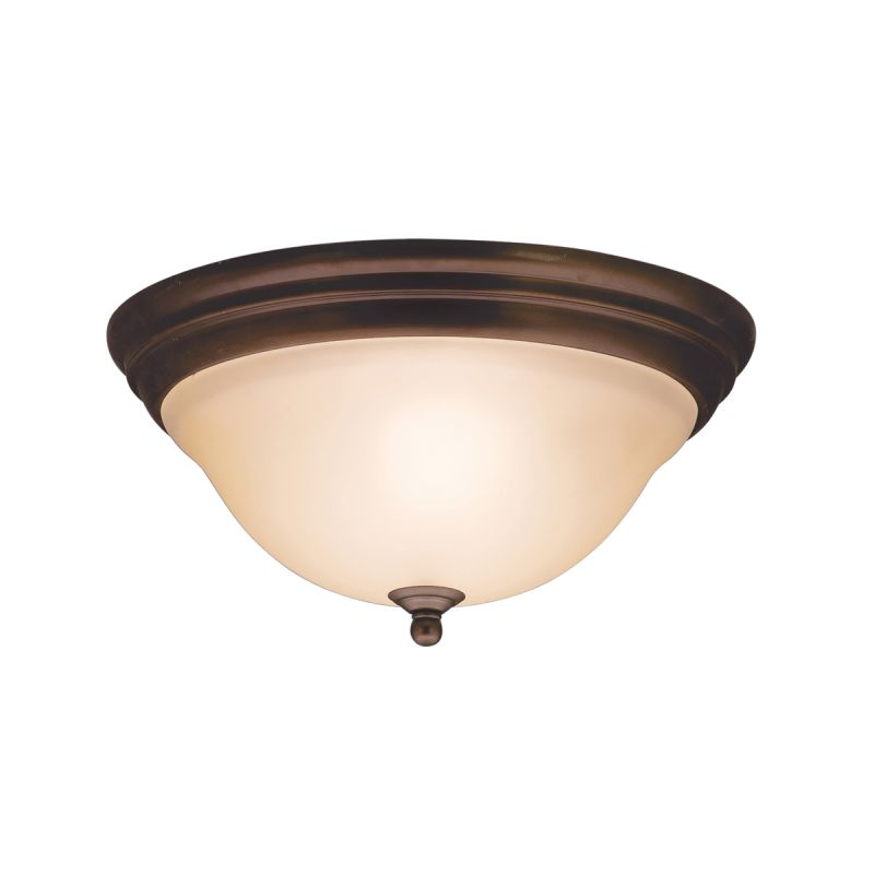Kichler 8076 Telford 2 Light Flush Mount Indoor Ceiling Fixture Olde