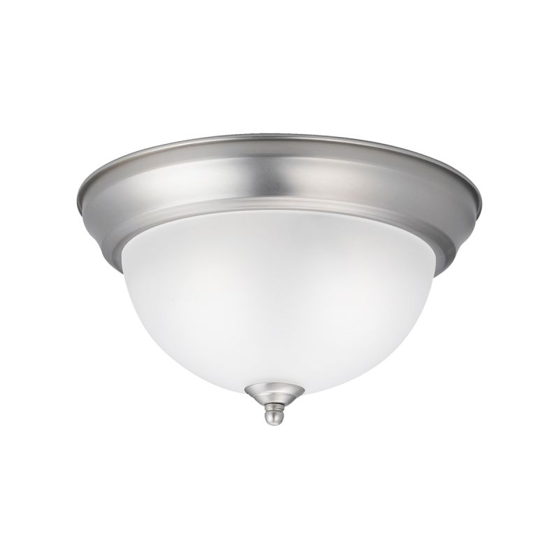 Kichler 8111 Signature 2 Light Flush Mount Ceiling Fixture Brushed