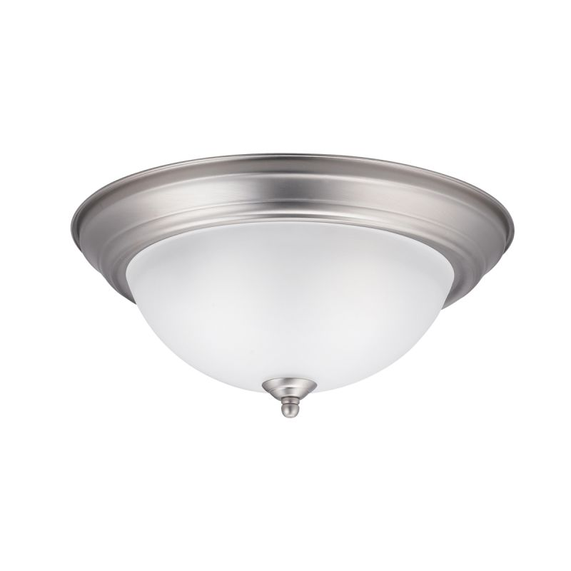 """Kichler 8112 Signature 2 Light 13"""" Wide Flush Mount Ceiling Fixture"""