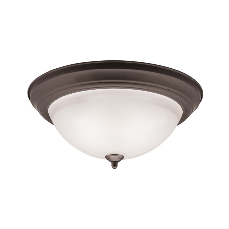 "Kichler 8116 Signature 3 Light 15"" Wide Flush Mount Ceiling Fixture"