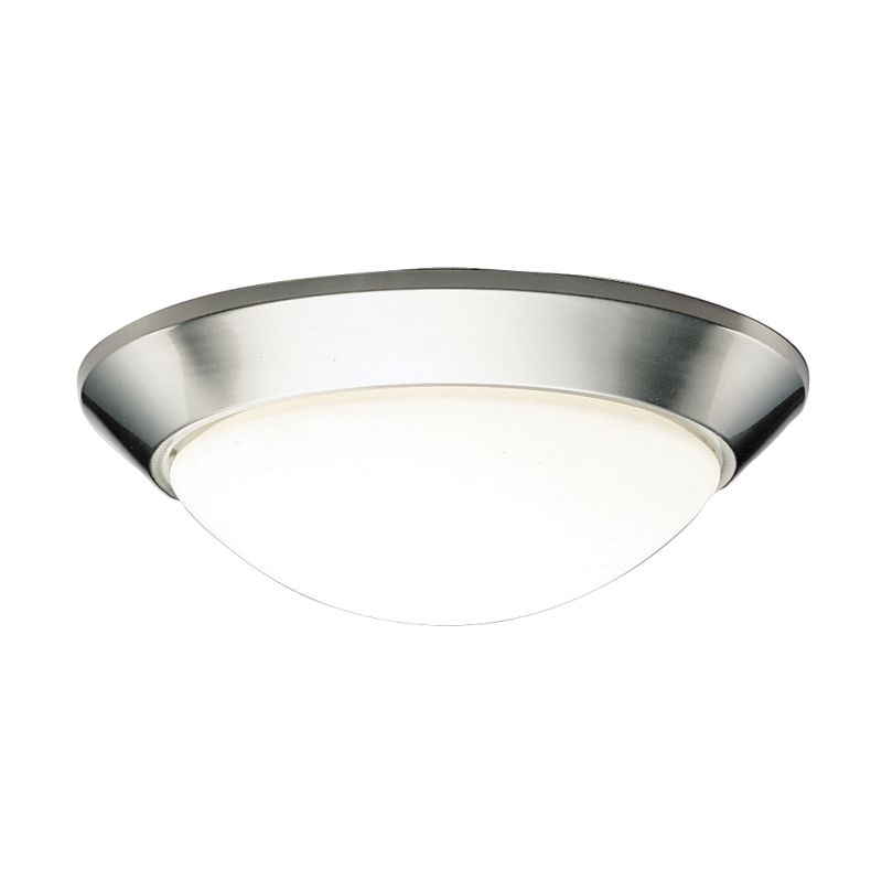 Kichler 8882 Spires 2 Light Flush Mount Indoor Ceiling Fixture Brushed Sale $54.00 ITEM: bci844946 ID#:8882NI UPC: 783927029490 :