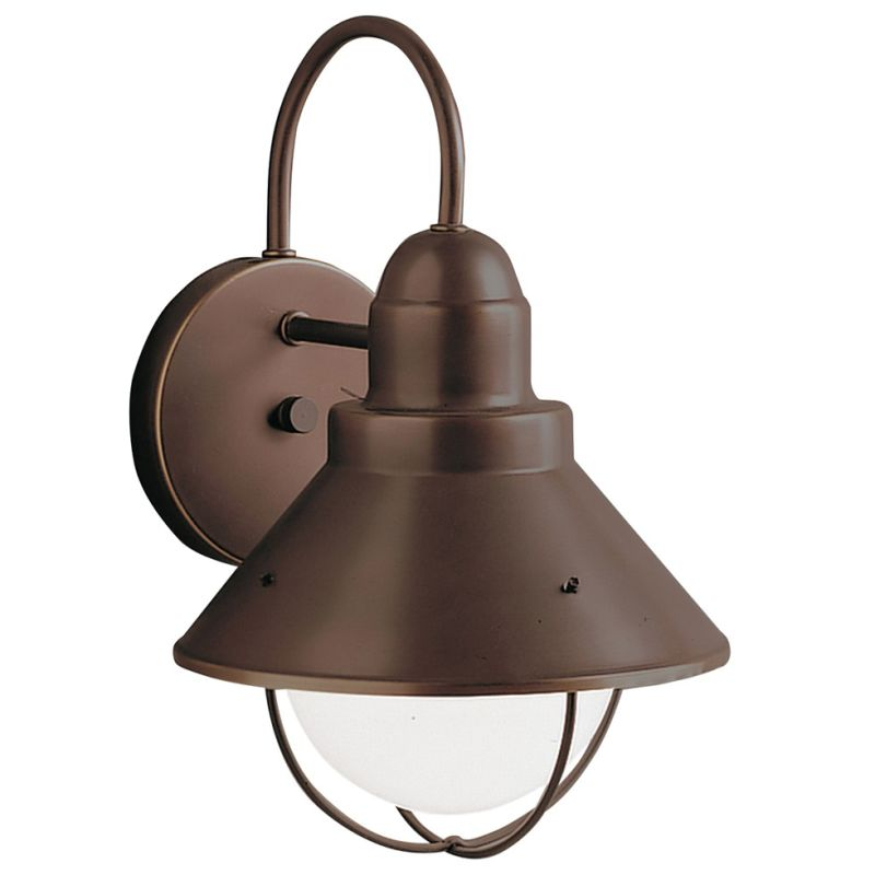 "Kichler 9022 Seaside Single Light 12"" Tall Outdoor Wall Sconce Olde"