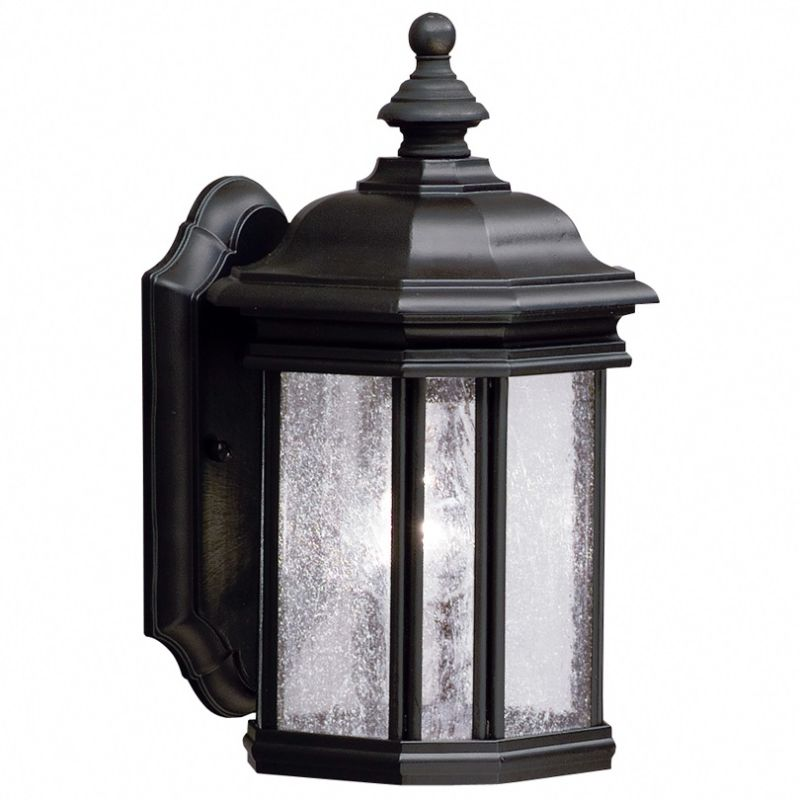 "Kichler 9028 Kirkwood Collection 1 Light 13"" Outdoor Wall Light Black"