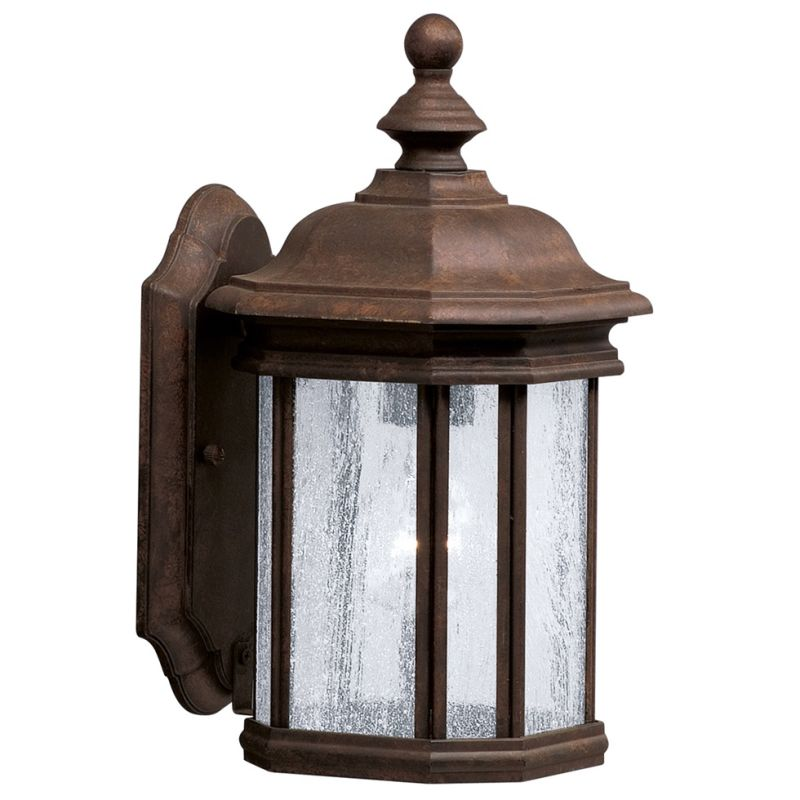 "Kichler 9028 Kirkwood Collection 1 Light 13"" Outdoor Wall Light"