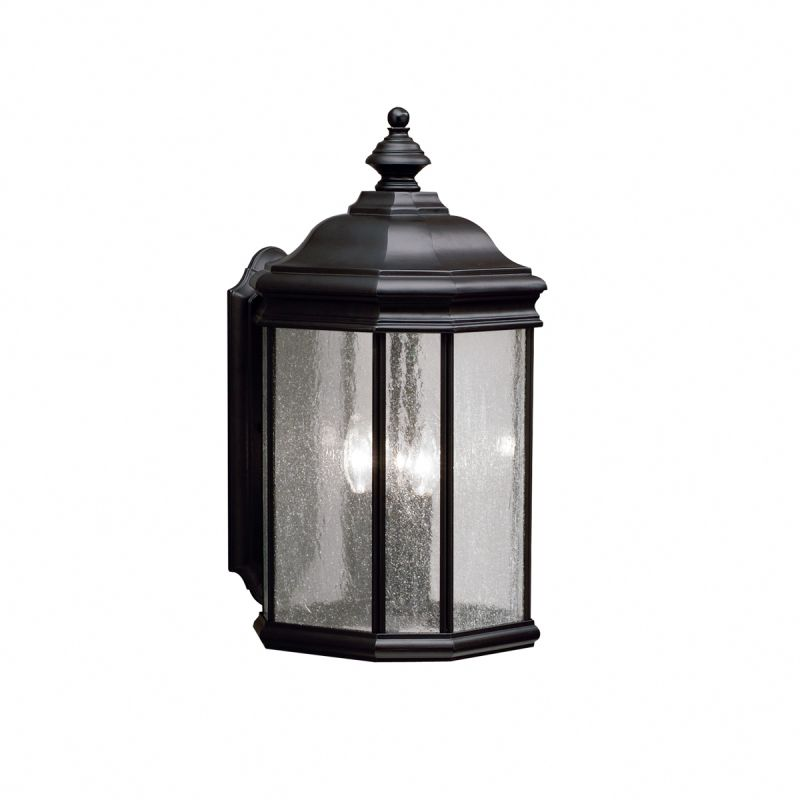 "Kichler 9030 Kirkwood Collection 3 Light 21"" Outdoor Wall Light Black"