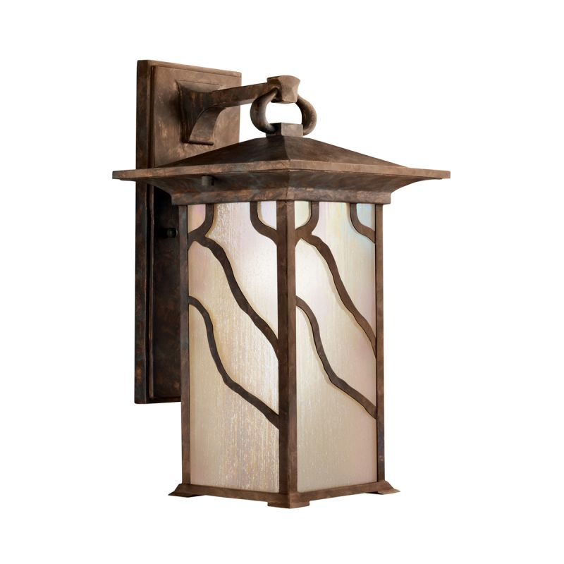 "Kichler 9031 Morris Collection 1 Light 15"" Outdoor Wall Light"