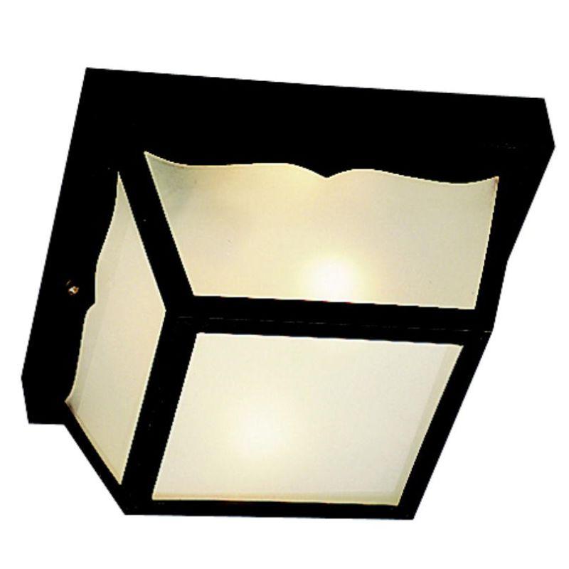 Kichler 9322 2 Light Outdoor Ceiling Fixture Black Outdoor Lighting