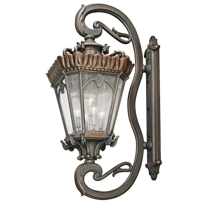 "Kichler 9362 Tournai Collection Extra Large 5 Light 70"" Outdoor Wall"