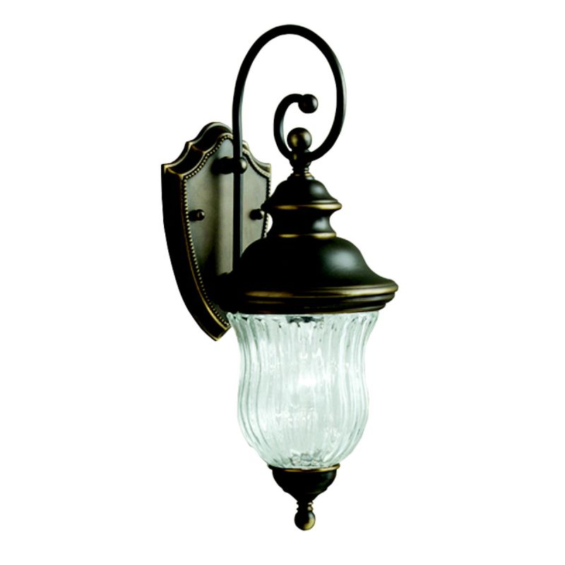 "Kichler 9412 Sausalito Collection 1 Light 20"" Outdoor Wall Light Olde"