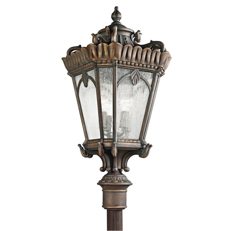 Kichler 9565 Tournai 4 Light 37.5 Inch Tall Outdoor Post Light