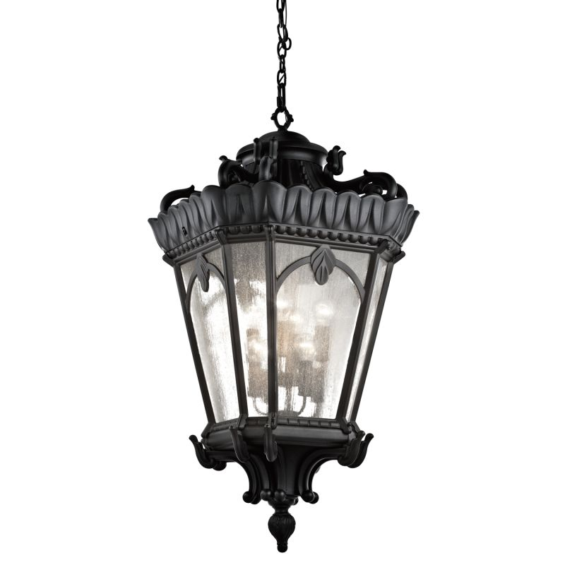 Kichler 9568 Tournai 8 Light Oversize Outdoor Pendant Black Outdoor Sale $3432.00 ITEM: bci2157857 ID#:9568BKT UPC: 783927394970 :