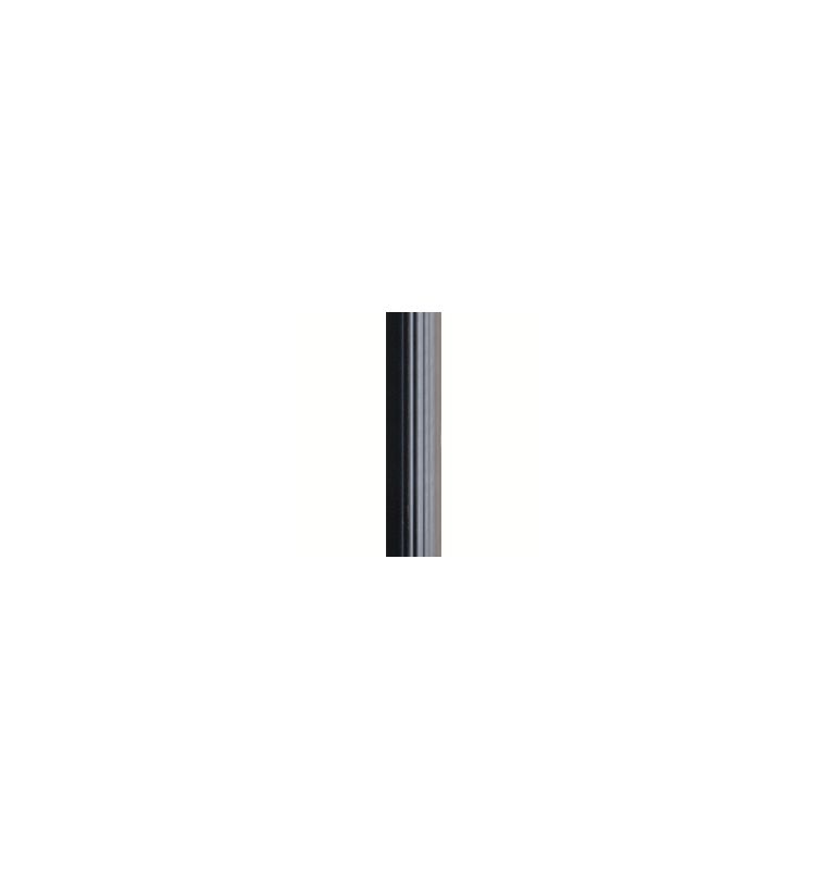 "Kichler 9595 84"" Direct Burial Fluted Aluminum Post Black Outdoor"