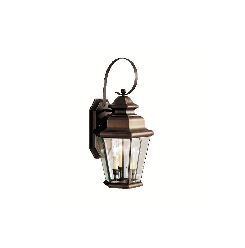 "Kichler 9677 Savannah Estates Collection 3 Light 25"" Outdoor Wall"