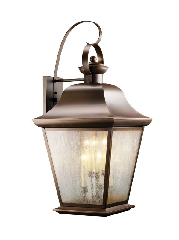 "Kichler 9703 Mount Vernon Collection 6 Light 33"" Outdoor Wall Light"