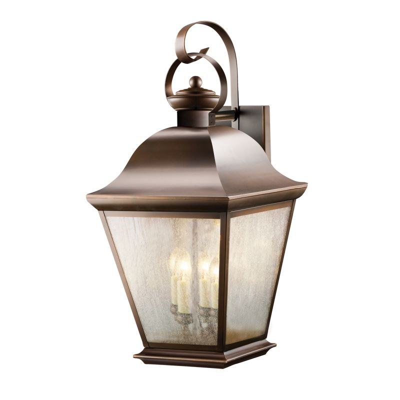"Kichler 9704 Mount Vernon Collection 4 Light 28"" Outdoor Wall Light"
