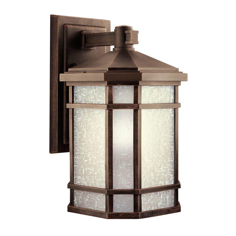 "Kichler 9720 Cameron Collection 1 Light 18"" Outdoor Wall Light Prairie"